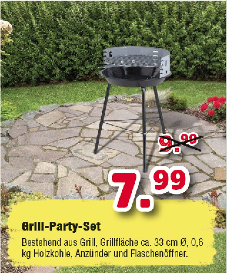 Grill-Party-Set
